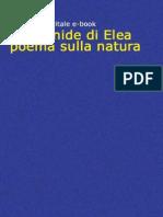 Il Poema Sulla Natura - Parmenide Di Elea