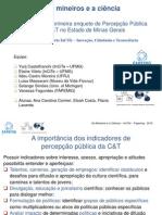 Os Mineiros e a Ciência Fapemig InCiTe UFMGresumo Executivo