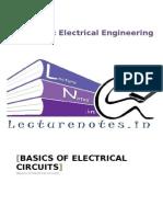 1 Basics of Electrical Circuits