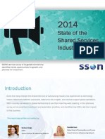2014 State of the Shared Services Industry Report