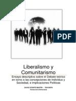 Comunitarismo y Liberalismo