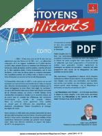 Citoyens Militants (août 2015)