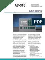 Leaflet Delem DAC-310 DU