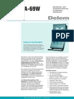 Leaflet Delem DA-69W DU