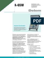 Leaflet Delem DA-65W DU