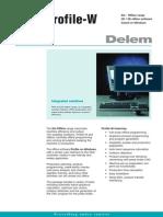 Leaflet Delem Profile-W En