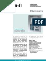 DA-41 Duits Leaflet