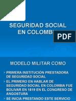 Clase 1 Seguridad Social en Colombia