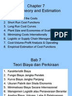 Ch 7 Cost Theory & Estimation Ing-Indo