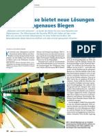 Bericht Im Maschinenmarkt - Abkantpressen