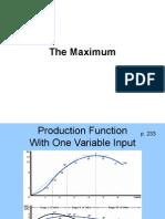The Maximum Profit