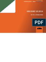 2014 Ktm 690 Duke Engine Manual