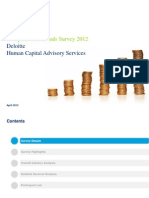 Compensation Trends Survey 2012