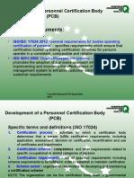 ISO17024 Tivat September 2014