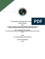 La Teoria de Juegos de Nash Como Herramienta Matematica Para La Toma de Decisiones Estrategicas en Las Ciencias Contables