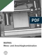 Marwa Mess- Und Anschlagkombination