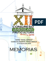 MEMORIAS FRUTICULTURA