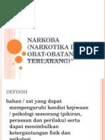 NARKOBA (Narkotika Dan Obat-obatan Terlarang), NAPZA