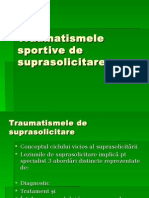 Traumatologie Sportiva Curs 4