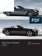 SLK-Class Specifications 03.2014 2