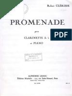 Clerisse Robert - Promenade