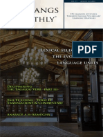 Conlangs Monthly - August Edition