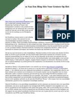 Leren Hoe Te Maken Van Een Blog Site Voor Grotere Op Het Internet Succes