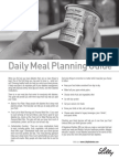 Diabetes Meal Planning Guide