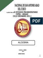 Algebra 2011-i Ultxxxxxx