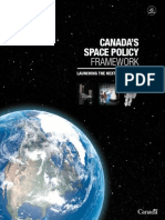 Canadas Space Policy Framework
