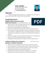 AzizAhmed Resume