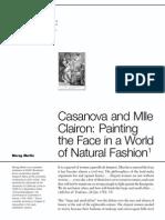Casanova y Clairon