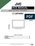 Jvc Lcd Lt-26f80bu