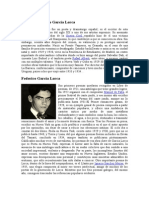 Historia Federico García Lorca