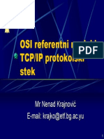 04 OSI Referentni Model i TCP