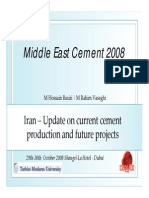 Middle East Cement 2008
