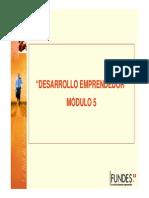 Desarrollo Emprendedor Módulo 5 - AG Sólo Lectura Modo de Compatibilidad