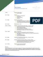 TR300 Dr. Swope's Hernia Course Agenda