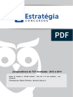 Cópia de Jurisprudência Atualizada TST 2012 a 2014