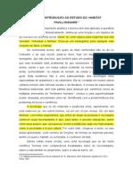 Capítulo Xi-Introdução Ao Estudo Do Habitat Pavillonnaire