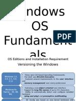WindowsOSFundamentals