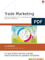 Trade Marketing - Resumen Organizacional