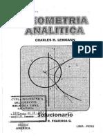 Figueroa G R - Geometria Analitica de Lehmann Solucionario