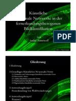 Künstliche Neuronale Netzwerke in Der Fernerkundungsbezogenen Bildklassifikation
