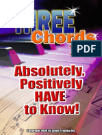 3 Chords You Absolutely Positively Have to Know