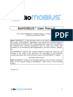 BioMOBIUS User Manual (with an EyesWeb 5 manual from page 19 to 42)
