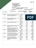 F3 - Lista Cantitati -Arhitectura