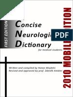 Concise Neurological Dictionary