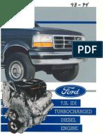 939473 Id i Turbocharged Diesel Engine