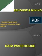 Data Warehousing & Mining